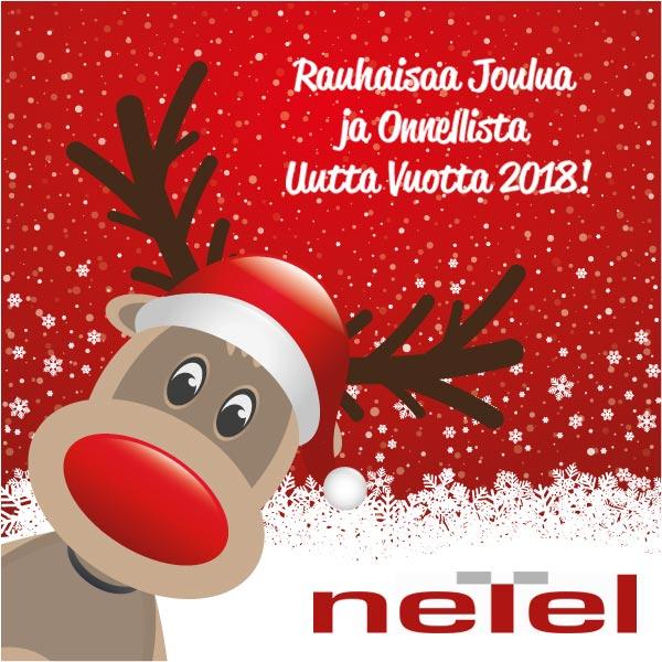 Netel Oy toivottaa hyvää joulua