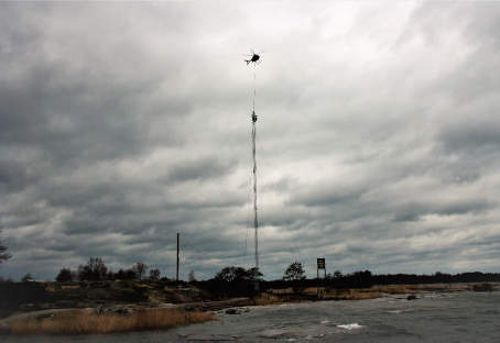 Netel antenni Isokarin saari